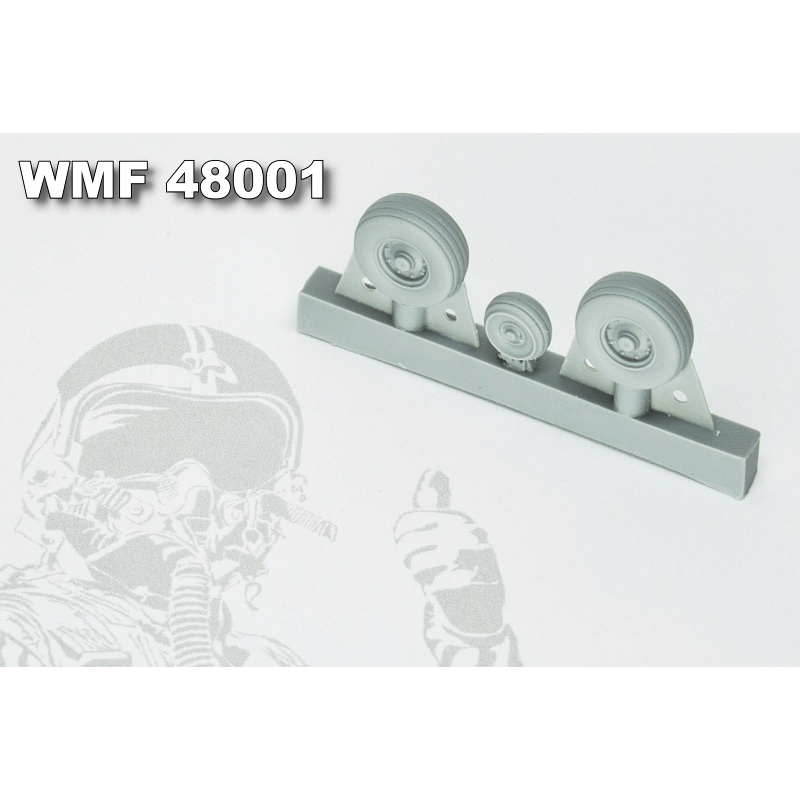 WMF48001 Alpha Jet Wheels